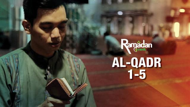Ngaji bareng kali ini akan membacakan surat Al-Qadr ayat 1-5 mengenai malam  Lailatul Qadr. Yuk ngaji bareng!