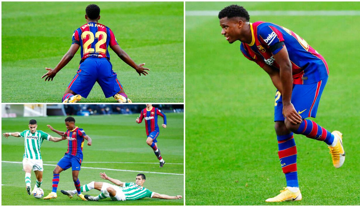Bintang muda Barcelona, Ansu Fati, mengalami cedera parah di bagian lutut usai mendapat tekel keras dari pemain Real Betis, Aissa Mandi. Cedera yang membuatnya absen hingga empat bulan itu juga ternyata membahayakan masa depan kariernya.