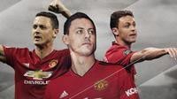 Pemain Manchester United: Nemanja Matic. (Bola.com/Dody Iryawan)