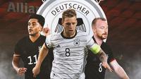 Jerman - Pemain Jerman di Olimpiade Tokyo (Bola.com/Adreanus Titus)