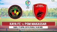 AFC CUP - Kaya Fc Vs PSM Makassar (Bola.com/Adreanus Titus)