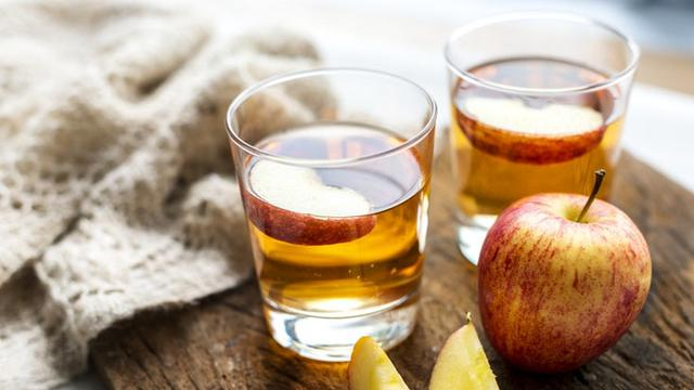 Ilustrasi cuka sari apel