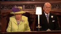 Berikut gaya kompak Ratu Elizabeth II dan ibu Meghan Markle dengan busana bernuansa hijau. (Foto: Liputan6.com/ Novi Nadya)