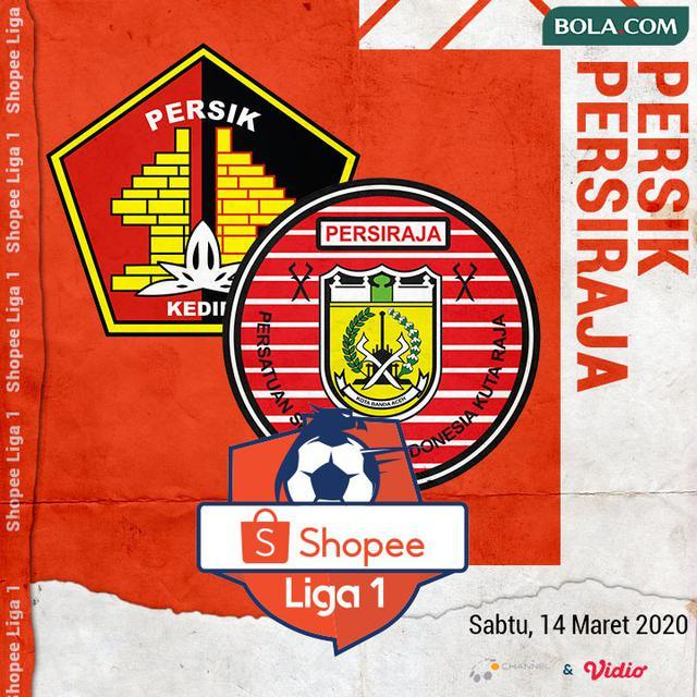 Shopee Liga 1 - Persik Kediri Vs Persiraja Banda Aceh