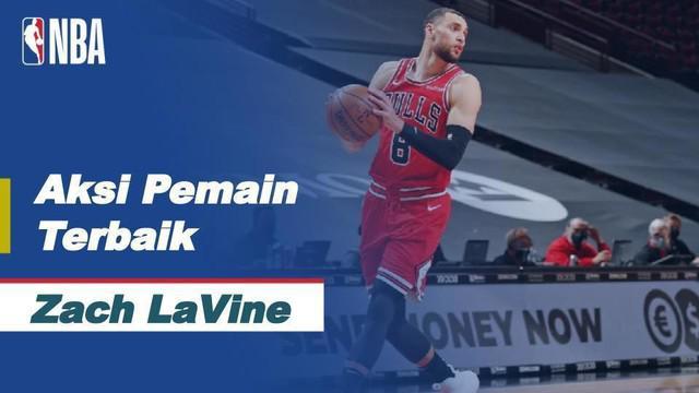 Berita Video Aksi Gemilang Zach LaVine Saat Membawa Chicago Bulls Unggul atas Sacramento Kings di NBA Hari Ini