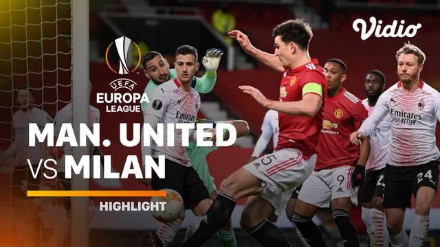 Berita video highlights leg pertama babak 16 besar Liga Europa 2020/2021 antara Manchester United melawan AC Milan yang berakhir dengan skor imbang 1-1, di mana Amad Diallo menorehkan gol, Jumat (12/3/2021) dinihari WIB.