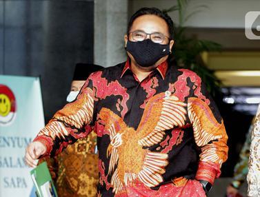 FOTO: Menteri Agama Yaqut Cholil Qoumas Sambangi KPK
