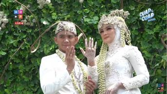 8 Momen Resepsi Pernikahan Ridho DA dan Syifa, Meriah Usung Konsep Internasional