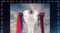 La Liga - Ilustrasi Piala La Liga (Bola.com/Adreanus Titus)