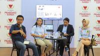 Politikus Partai Gerindra Rahayu Saraswati Djojohadikusumo dalam Foreign Media Briefing 'Pemuda dan Ketenagakerjaan' di Media Center Prabowo-Sandi di Jakarta. (Merdeka.com)