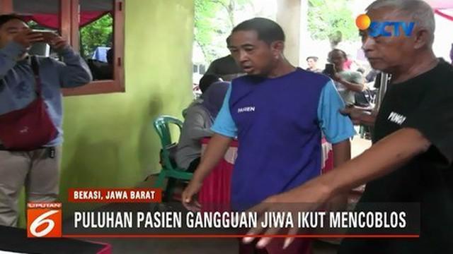 Sejumlah orang dengan gangguan jiwa (ODGJ) di Bekasi dan Cipayung, Jaktim, turut berpartisipasi mencoblos di TPS. Bagaimana suasananya?