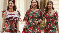 Koleksi pakaian Dolce & Gabbana untuk koleksi pra musim gugur 2019. (dok. Dolce & Gabbana/Novi Thedora)