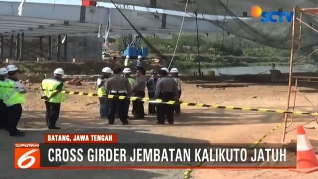 Dari hasil analisis sementara, tidak ditemukan kerusakan berarti pada girder dan akan kembali dipasang setelah berhasil diangkat dari sungai.