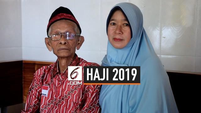 Dengan keinginan dan tekad yang kuat seorang kakek berusia 96 tahun berangkat menunauikan ibadah haji. Sang kakek menyisihkan uang dari hasil panennya selama 4 tahun. Kakek Miun berangkat bersama putrinya.