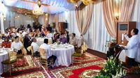 Buka puasa bersama di rumah dinas Ketua DPR RI Bambang Soesatyo.