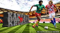 Kamerun vs Kroasia (Liputan6.com/Ari Wicaksono)