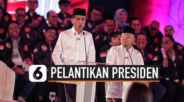 Pelantikan Joko Widodo dan Ma'ruf Amin sebagai Presiden dan Wakil Presiden akan dilakukan 20 Oktober 2019. Berikut adalah acara syukuran setelah keduanya dilantik.