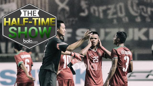 Video Half-Time Show yang membahas kemungkinan taktik Timnas Indonesia untuk menghadapi Vietnam pada leg II Semifinal Piala AFF 2016.