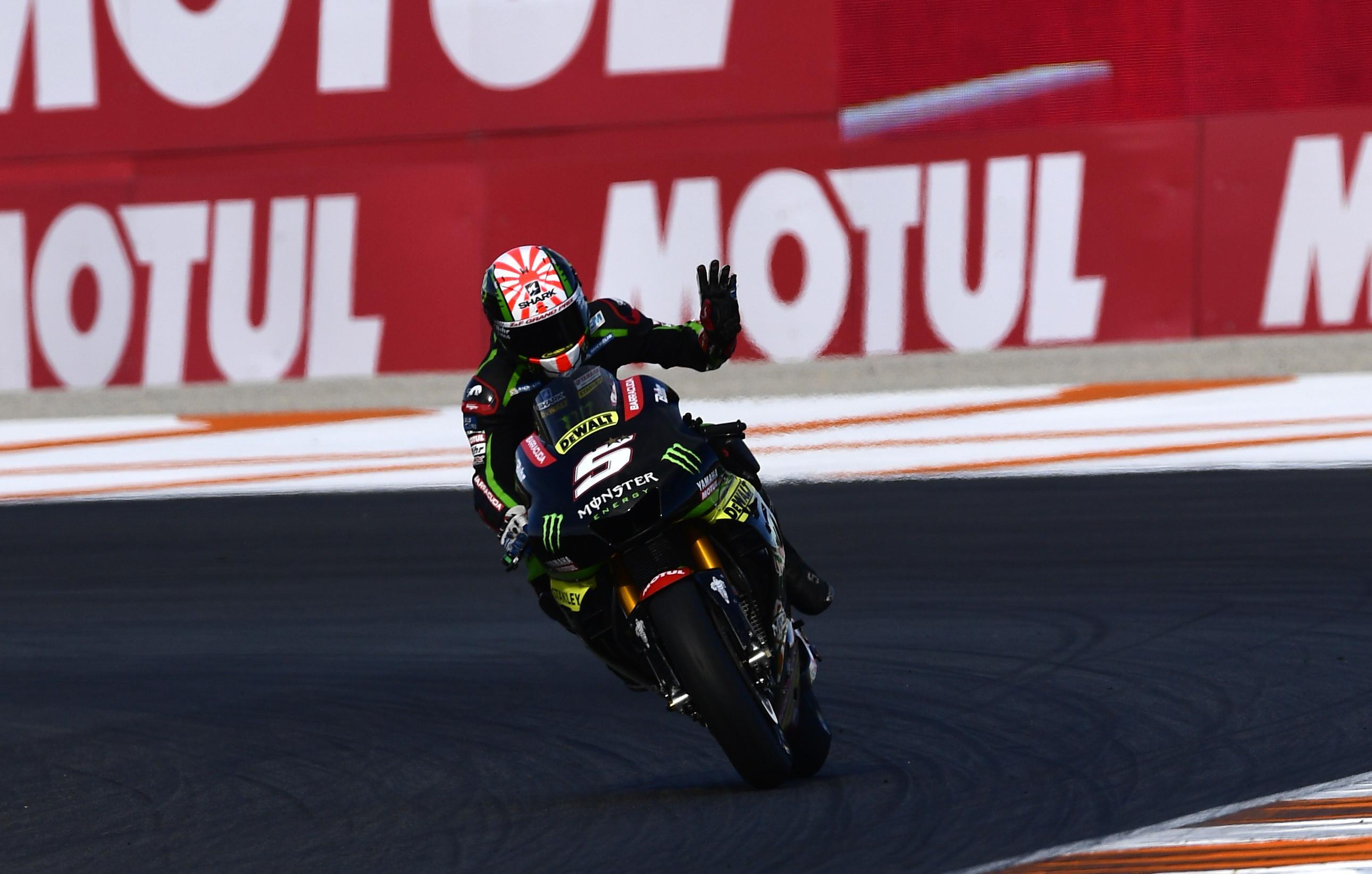 Tampil apik sepanjang musim, Johann Zarco dinobatkan sebagai Rookie of the Year MotoGP 2017. (PIERRE-PHILIPPE MARCOU / AFP)