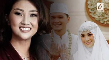 Sarwendah yang merupakan teman Cherrybelle dari Anisa Rahma ternyata tak diundang Anisa pada hari pernikahannya di Masjid Junudurrahman Kodiklat TNI AD, Bandung, Jawa Barat, Minggu (16/9).