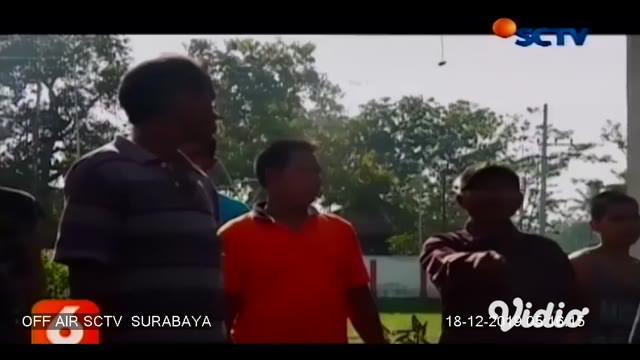 Sebuah truk bermuatan cabai rawit hijau terbalik dan menabrak teras rumah warga. Kecelakaan tunggal ini terjadi pada Selasa (17/12/2019) di Jalan Raya Rambipuji, Kecamatan Rambipuji, Jember, Jawa Timur.