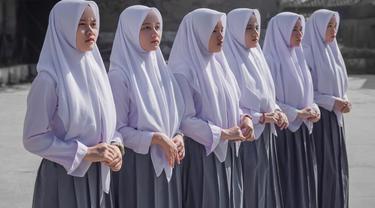 Grup vokal Putih Abu-Abu (ist)
