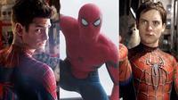 Tiga Spider-Man di layar lebar. (soloseriesypeliculas.tk)