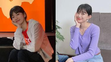 6 Persamaan Gaya Desy Eks JKT48 dengan Bae Suzy, Disebut Mirip
