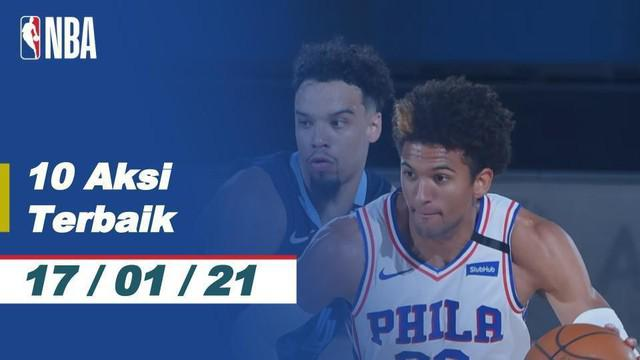 Berita Video 10 Aksi Terbaik NBA 17 Januari 2021, Slam Dunk Ja Morant