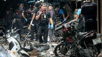 Bom Motor Meledak di Pasar Thailand, 3 Orang Tewas (TUWAEDANIYA MERINGING / AFP)