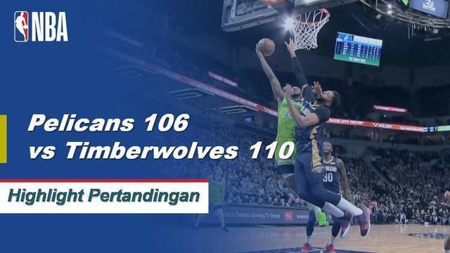 Karl-Anthony Towns menempatkan 27 poin dengan 27 rebound karir dalam kemenangan kandang Timberwolves.