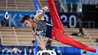 United States gymnast at the 2020 Tokyo Olympics, Yul Moldauer.  (doc. Instagram @yul_moldauer/https://www.instagram.com/p/CR0Uv6crgOg/)