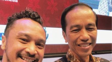 [Bintang] Giring Nidji dan Jokowi