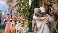 Viral Wanita Ini Jadi MC di Acara Nikahan Mantan, Tuai Banyak Pujian. (Sumber: TikTok/awnafaaa)