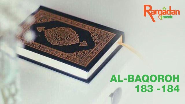 Ngaji bareng kali ini, akan membacakan surat Al-Baqoroh 183-184 mengenai bulan Ramadhan. Yuk simak!