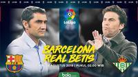 La Liga - Barcelona Vs Real Betis (Bola.com/Adreanus Titus)