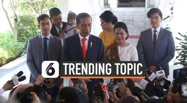 Acara pelantikan Presiden dan Wakil Presiden RI 2019-2024 menjadi sorotan warganet. Tagar #CongratsJokowiMarufAmin bahkan mennjadi trending topic dunia.