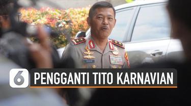 Kabareskrim Komjen Idham Aziz diusulkan Presiden Jokowi sebagai Kapolri.