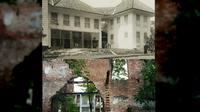 Di ujung selatan Jalan Condet Raya, sebuah kerangka bangunan bersejarah berdiri.