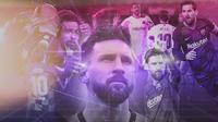 Lionel Messi. (Bola.com/Gregah Nurikhsani)
