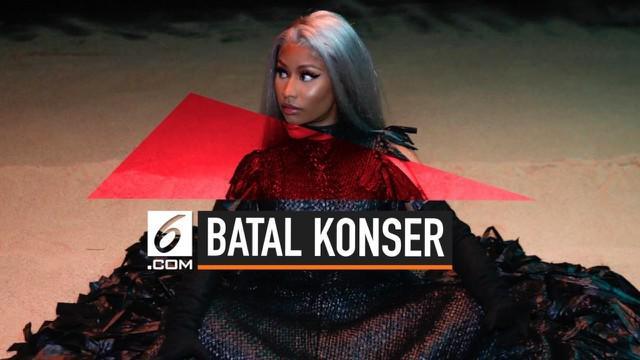 Nicki Minaj umumkan batal tampil pada sebuah konser di Arab Saudi. Pembatalan tersebut merupakan sikapnya mendukung hak perempuan dan LGBT yang ditentang di negara tersebut.