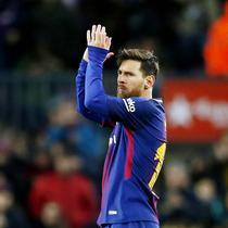1. Lionel Messi (Barcelona) - 36 Gol (4 Penalti). (AP/Manu Fernandez)