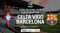 La Liga_Celta Vigo Vs Barcelona (Bola.com/Adreanus Titus)