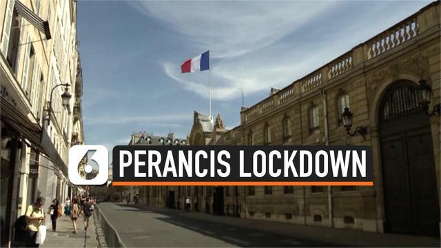Perancis Lockdown