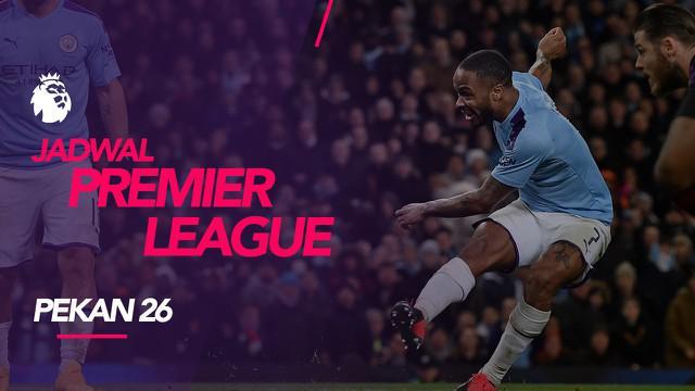 Berita video jadwal Premier League 2019-2020 pekan ke-26. Manchester City hadapi West Ham United, Minggu (9/2/2020) di Etihad Stadium.