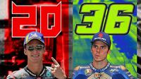 MotoGP - Fabio Quartararo Vs Joan Mir (Bola.com/Adreanus Titus)