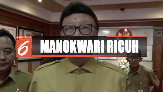 Tanggapi kericuhan Manokwari, Kapolri Tito Karnavian dan Mendagri Tjahjo Kumolo menyatakan kerusuhan tak perlu terjadi karena hanya berlandaskan hoaks dan kesalahpahaman.