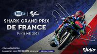 Jadwal MotoGP Seri Prancis 2021. (Sumber : dok. vidio.com)
