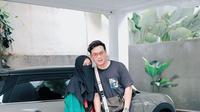 Potret manis Natta Reza dan Wardah Maulina. (Sumber: Instagram.com/wardahmaulina_)