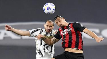 FOTO: Dipermalukan AC Milan, Juventus Terancam Gagal Tampil di Liga Champions Musim Depan